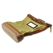 MMF Industries MMF206482409 Cordura Plus Padlock Mail-Courier Bag- 18in.x5-.25in.x24in.- Tan