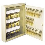 SteelMaster Uni-Tag Key Cabinet, 110-Key,Steel, Sand, 36cm x 7.6cm - 0.3cm x 43cm - 0.3cm