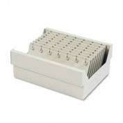 In-Drawer Key Control, 112-Key, Molded Plastic, Putty, 12 x 9 7/8 x 4 3/4