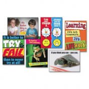 Think Positively ARGUS Large Poster Combo Pack, 6 Posters/Pack