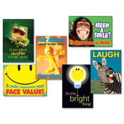 Trend TA67920 Assorted Attitude and Smiles Themed Motivational Prints 13 .38 x 19 6-Pack