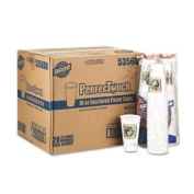 Georgia-Pacific PerfecTouch 5356DX WiseSize Coffee Design Insulated Paper Cup, 470ml