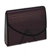 Esselte Pendaflex 1118 13-Pocket Expanding Spiral File Letter Foam Poly Burgundy 1/Ea