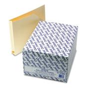 Expanding Shelf File Jackets with Cut-Away Corner, Letter, Manila, 50/Box