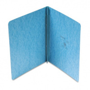 "Pressboard Report Cover, 2 Prong Fastener, Letter, 3"" Capacity, Light Blue"