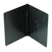 "Pressboard Report Cover, 2 Prong Fastener, Letter, 3"" Capacity, Black"