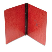 """Pressboard Report Cover, 2 Prong Fastener, Letter, 3"""" Capacity, Red"""