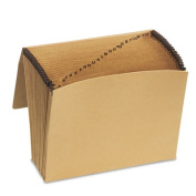 Esselte Pendaflex 10in. x 12in. Full Flap Kraft Expanding Alphabetic File K17A-OX - Pack of 5