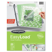 Easy Load Sheet Protector, 25/Pack