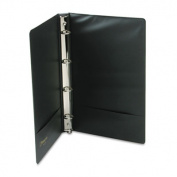 Wilson Jones® Legal Size 4-Ring Binder, 14 x 8-1/2, 2.5cm Capacity, Black