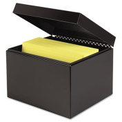 Index Card File Holds 900 6 x 9 cards, 7 1/4 x 9 7/8 x 8 3/4