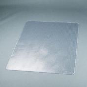 DuraMat Chair Mat For Low Pile Carpet, Rectangle, Vinyl, 46 x 60, Clear