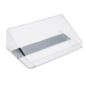 Letter Size Magnetic Wall File Pocket, Letter, Clear