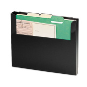 SteelMaster by MMF Industries SteelMaster Add-On Wall File, Letter, Black