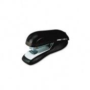 Rapid 76082 F30 Flat Clinch Half Strip Stapler- 30 Sheet Capacity- Black