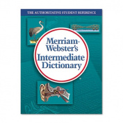 Merriam Webster Intermediate Dictionary, Grades 6-8, Hardcover, 1,024 Pages