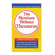 Paperback Thesaurus, Dictionary Companion, Paperback, 800 Pages