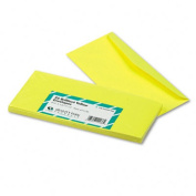 Colored Envelope, Traditional, #10, Yellow, 25/Pack