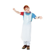 Disposable Apron, Polypropylene, White, 30/Pack