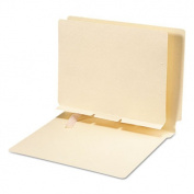 Smead Self-Adhesive Folder Divider, Side Flap Style, Letter Size, Manila, 100 per Box