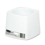 Rubbermaid Commercial 631100WE Holder for Toilet Bowl Brush- White Plastic