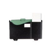 Universal Add-On Pocket for Grande Central Filing System, Plastic, Black