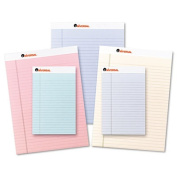 Coloured Perforated Note Pads, 8-1/2 X 11, Blue, 50-Sheet, Dozen