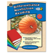 Differentiated Nonfiction Reading, Grade 2, 96 Pages