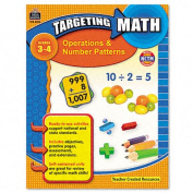Teacher Created Resources 8994 Targeting Math