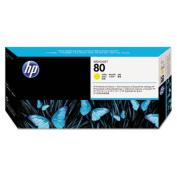 C4821A (HP80) Printhead & Cleaner, Cyan