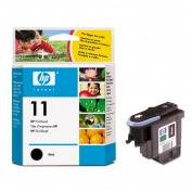 HP C4810A Black Printhead/Cleaner - 16000 Page - Black - Package