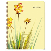 Day Runner 791800G Recycled Watercolours Monthly Planner, Design, 17cm . x 22cm ., 2012-2013