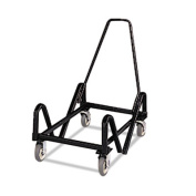 Olson Stacker Series Cart, 21-3/8 x 35-1/2 x 37, Black