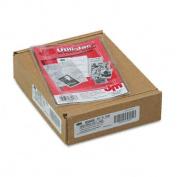 Utili-Jacs Heavy-Duty Clear Plastic Envelopes, 4 x 6, 50/Box