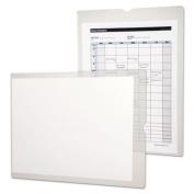 Utili-Jacs Heavy-Duty Clear Plastic Envelopes, 9 x 12, 50/Box
