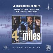 4 Generations of Miles