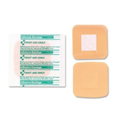 First Aid Only Patch Bandages, 3.8cm x 3.8cm , SmartCompliance Refill, 10/Box