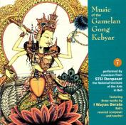 Music of Gamelan Gong Keybar, Vol. 1
