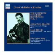 Brahms/Bruch Violin Concertos