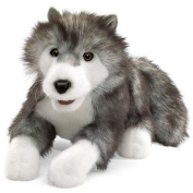 Timber Wolf Hand Puppet by Folkmanis - 2171