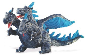 Blue Three-Headed Dragon Hand Puppet by Folkmanis - 2387