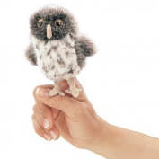 Folkmanis Spotted Owl Finger Puppet 2638