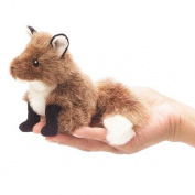 Mini Fox Finger Puppet by Folkmanis - 2644