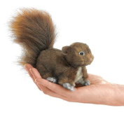 Folkmanis Red Squirrel Finger Puppet 13cm