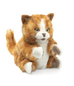 Orange Tabby Kitten Hand Puppet by Folkmanis - 2845