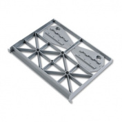 Optional Follower Block for Flagship or Brigade Series File Pedestals, Gray only