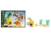 Littlest Pet Shop Series 4 Postcard Pets Angelfish #1355