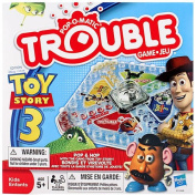 Disney Pixar Toy Story 3 Pop-O-Matic Trouble Game
