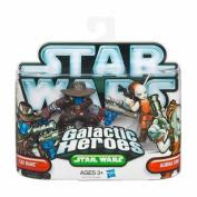 Star Wars Galactic Heroes 2010 - Cad Bane & Aurra Sing