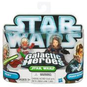 Star Wars Galactic Heroes 2010 2 Pack - Ahsoka & Anakin Skywalker